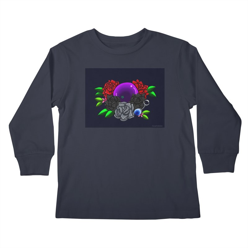 Inverted June Birthstone Dragonball #1 Kids Longsleeve T-Shirt by FieryWindWaker's Artist Shop