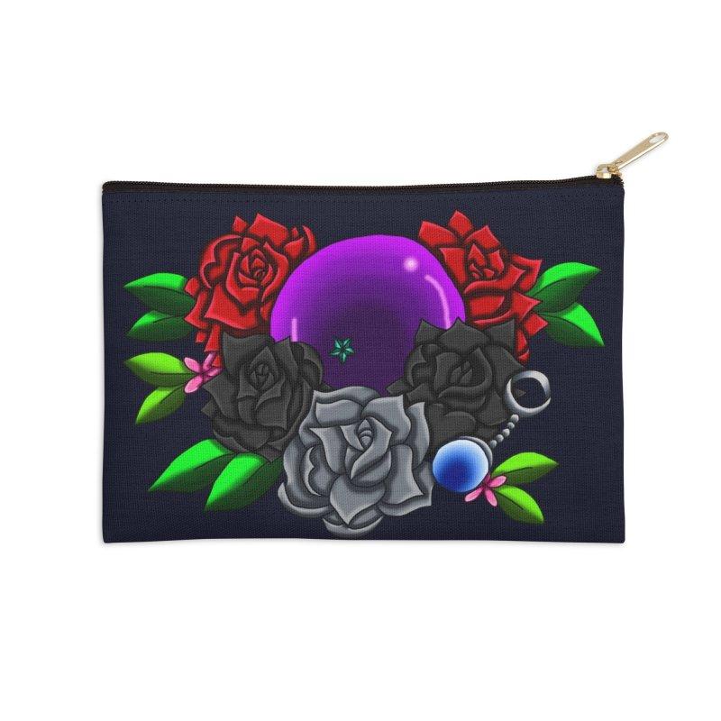Inverted June Birthstone Dragonball #1 Accessories Zip Pouch by FieryWindWaker's Artist Shop