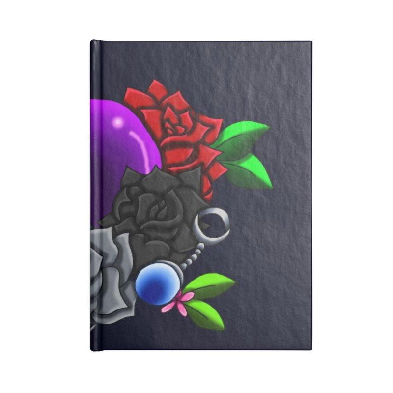 Inverted June Birthstone Dragonball #1 Accessories Notebook by FieryWindWaker's Artist Shop