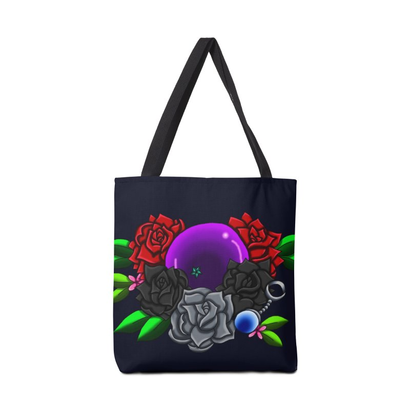 Inverted June Birthstone Dragonball #1 Accessories Bag by FieryWindWaker's Artist Shop