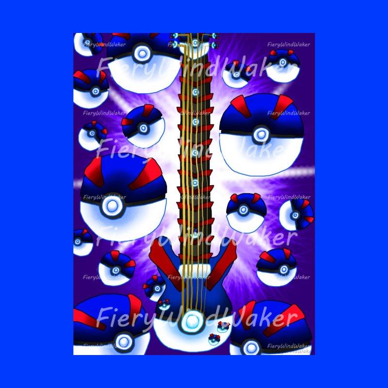 Pokeball Guitar #2 - Great Ball Men's T-Shirt by FieryWindWaker's Artist Shop