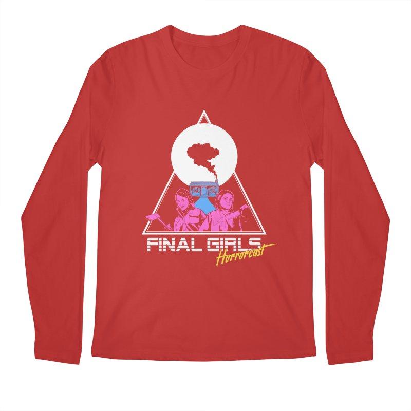 Femme Vorhees-Meyers Men's Regular Longsleeve T-Shirt by Final Girls Horrorcast's Artist Shop