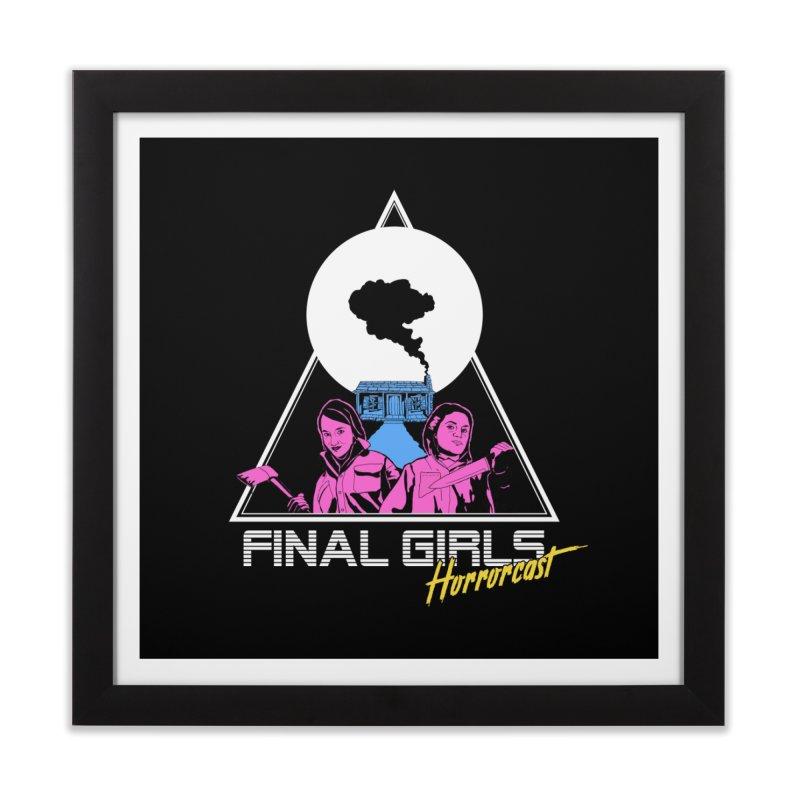 Femme Vorhees-Meyers Home Framed Fine Art Print by Final Girls Horrorcast's Artist Shop