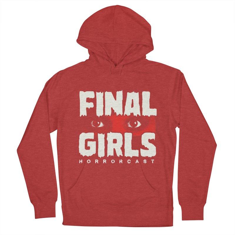 Final Girl Logo Men's French Terry Pullover Hoody by Final Girls Horrorcast's Artist Shop