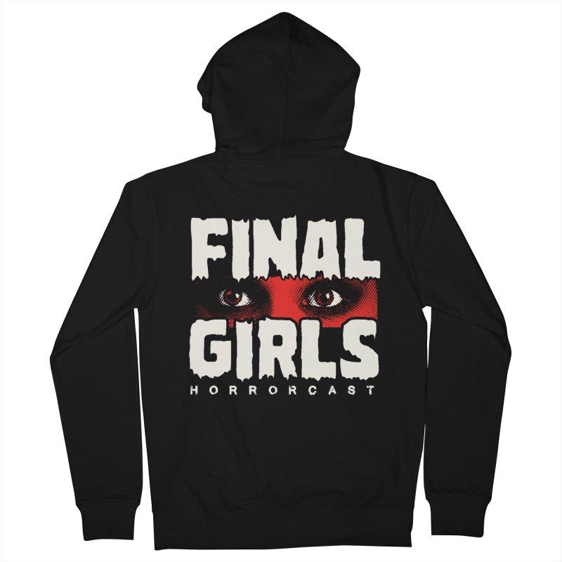 Final Girl Logo Women's French Terry Zip-Up Hoody by Final Girls Horrorcast's Artist Shop