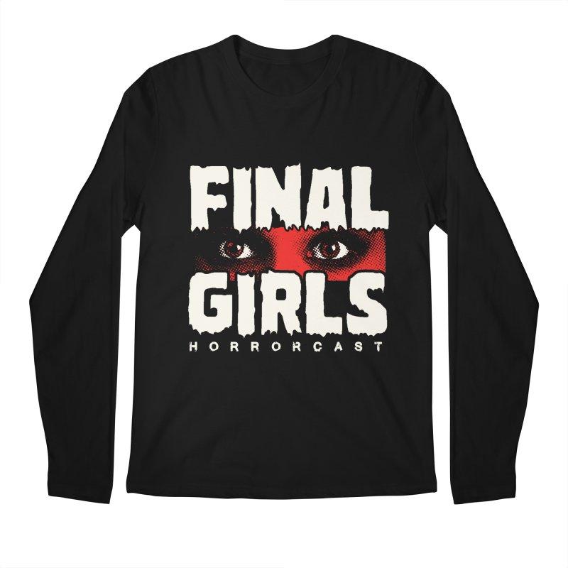 Final Girl Logo Men's Regular Longsleeve T-Shirt by Final Girls Horrorcast's Artist Shop