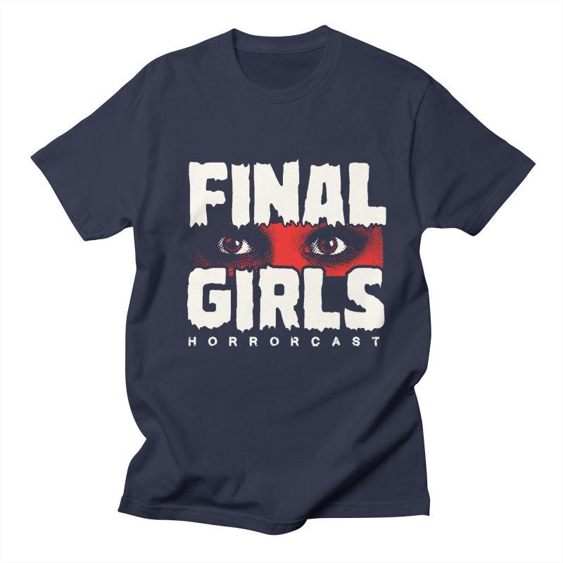 Final Girl Logo Women's Regular Unisex T-Shirt by Final Girls Horrorcast's Artist Shop