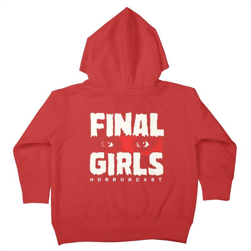 Final Girl Logo Kids Toddler Zip-Up Hoody by Final Girls Horrorcast's Artist Shop