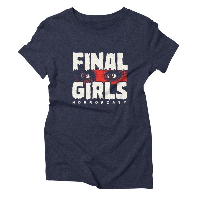 Final Girl Logo Women's Triblend T-Shirt by Final Girls Horrorcast's Artist Shop