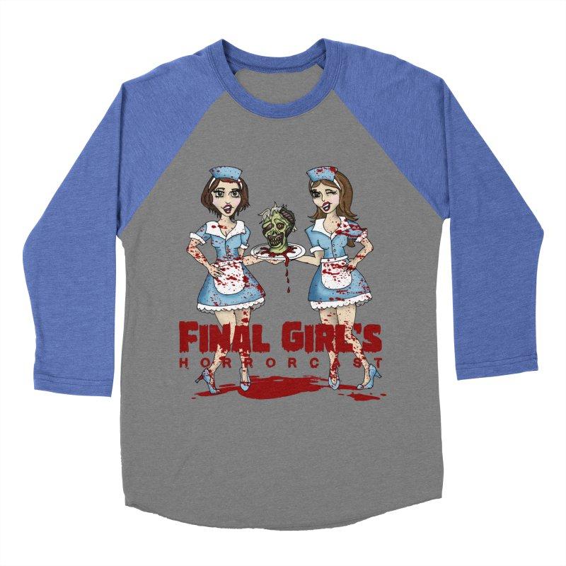 Final Girls Diner Men's Baseball Triblend Longsleeve T-Shirt by Final Girls Horrorcast's Artist Shop