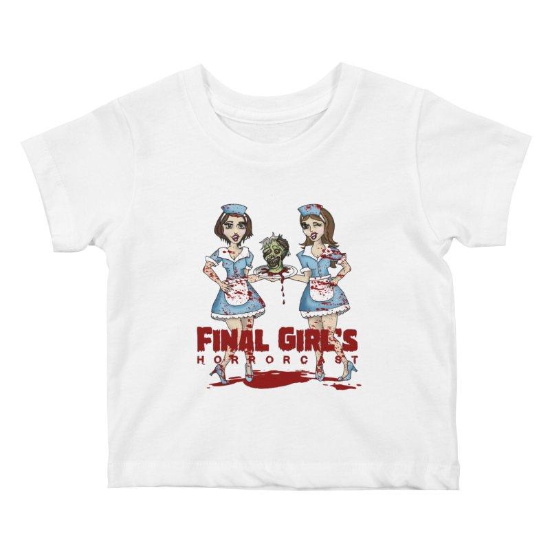 Final Girls Diner Kids Baby T-Shirt by Final Girls Horrorcast's Artist Shop
