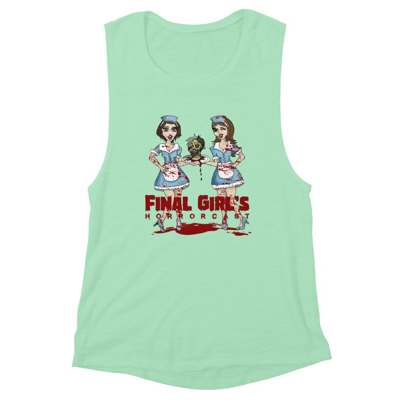 Final Girls Diner Women's Muscle Tank by Final Girls Horrorcast's Artist Shop