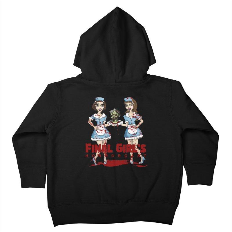Final Girls Diner Kids Toddler Zip-Up Hoody by Final Girls Horrorcast's Artist Shop