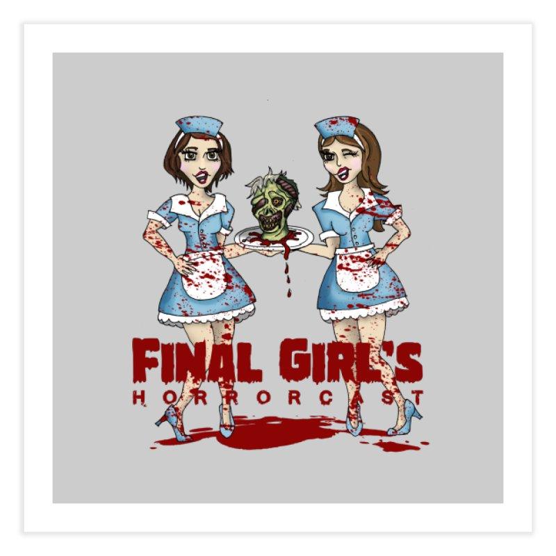 Final Girls Diner Home Fine Art Print by Final Girls Horrorcast's Artist Shop