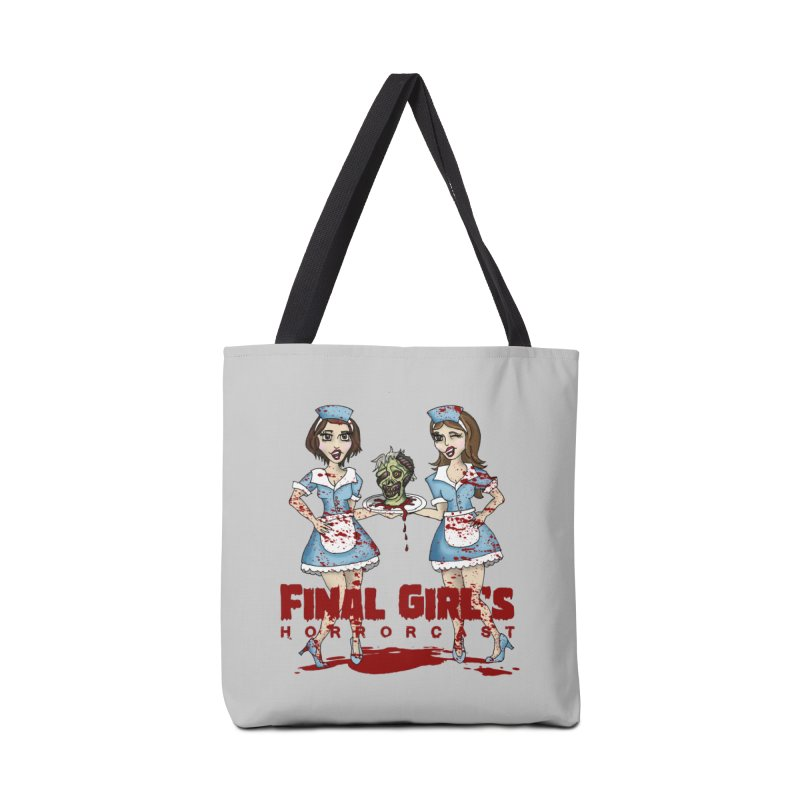 Final Girls Diner Accessories Tote Bag Bag by Final Girls Horrorcast's Artist Shop