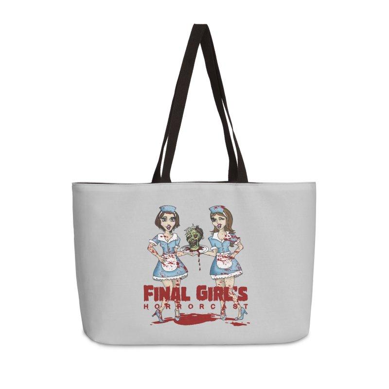Final Girls Diner Accessories Weekender Bag Bag by Final Girls Horrorcast's Artist Shop
