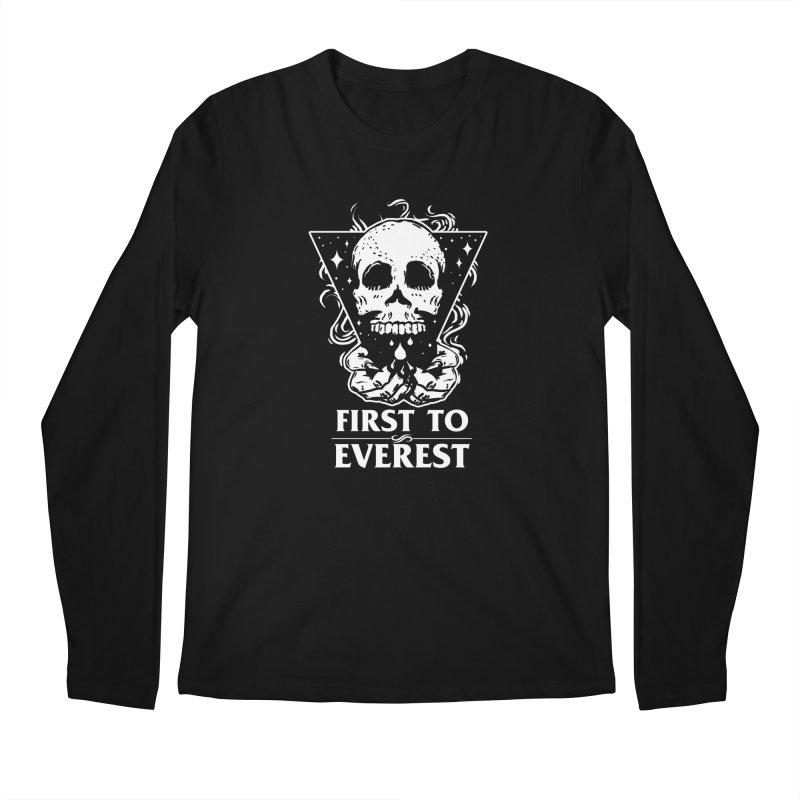 FTE Skull Design Men's Regular Longsleeve T-Shirt by Firsttoeverest Artist Shop