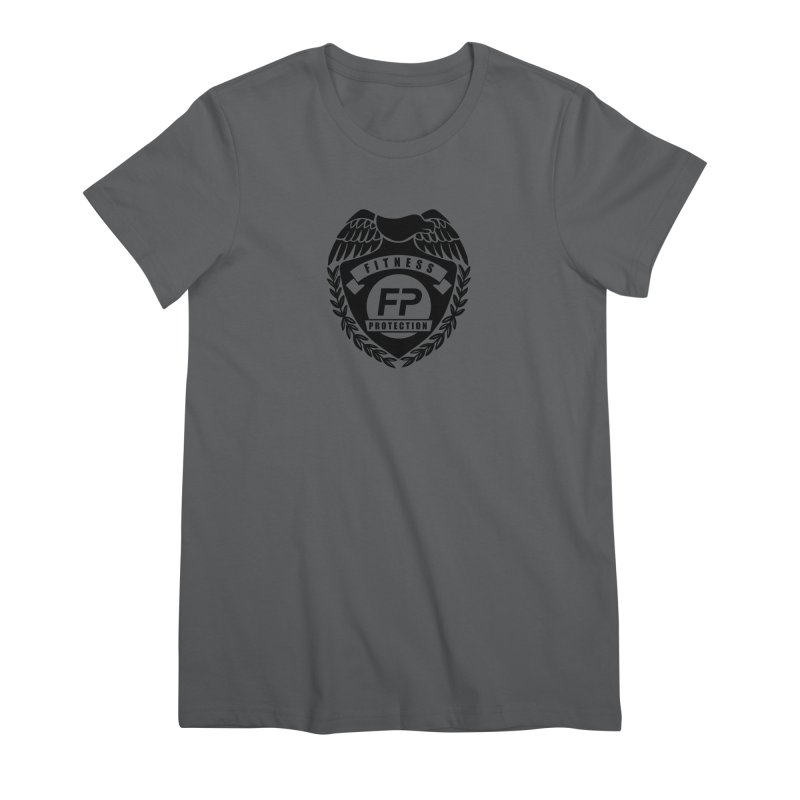Fitness Protection Women's Premium T-Shirt by Official Merch of the Fitness Protection Program