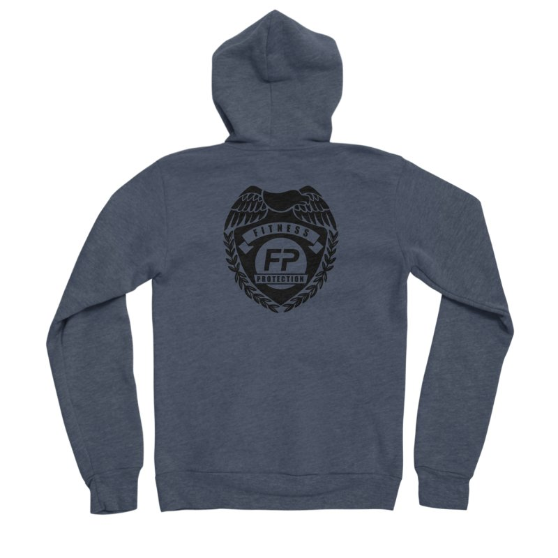 Fitness Protection Women's Sponge Fleece Zip-Up Hoody by Official Merch of the Fitness Protection Program