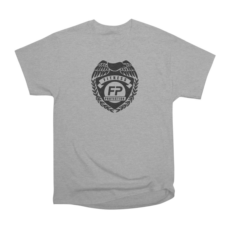 Fitness Protection Women's Heavyweight Unisex T-Shirt by Official Merch of the Fitness Protection Program