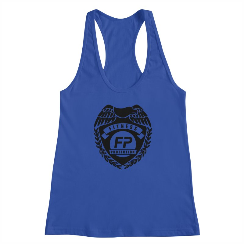 Fitness Protection Women's Racerback Tank by Official Merch of the Fitness Protection Program