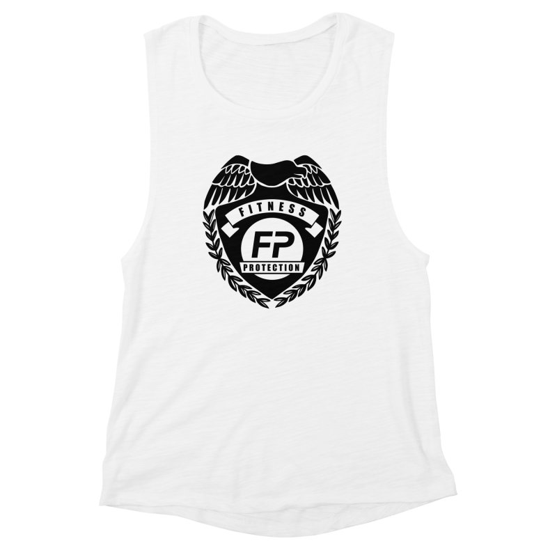 Fitness Protection Women's Muscle Tank by Official Merch of the Fitness Protection Program