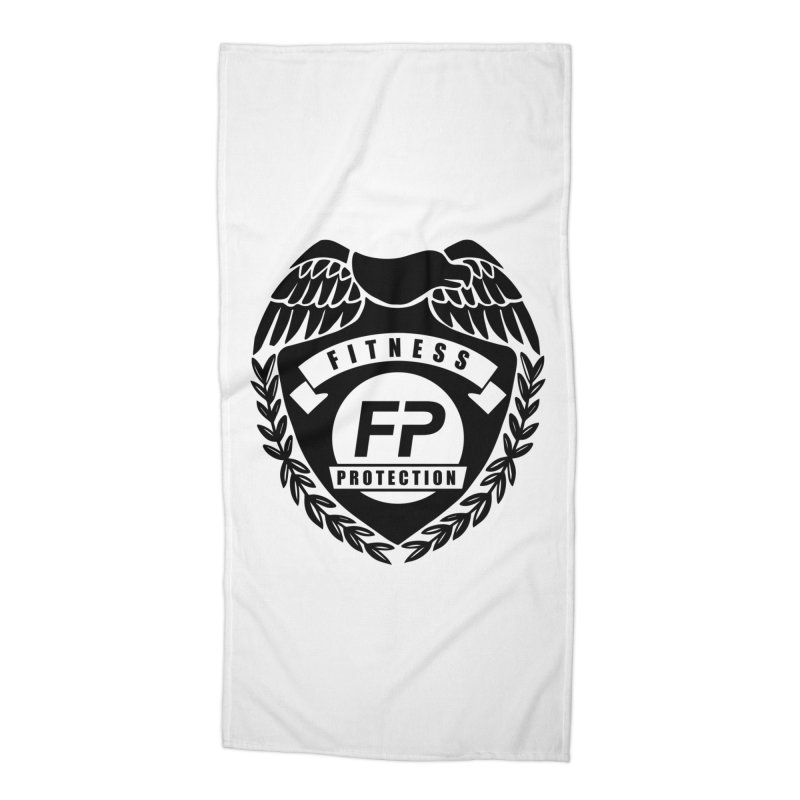 Fitness Protection Accessories Beach Towel by Official Merch of the Fitness Protection Program