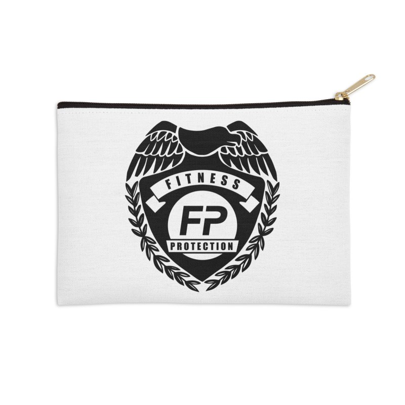 Fitness Protection Accessories Zip Pouch by Official Merch of the Fitness Protection Program