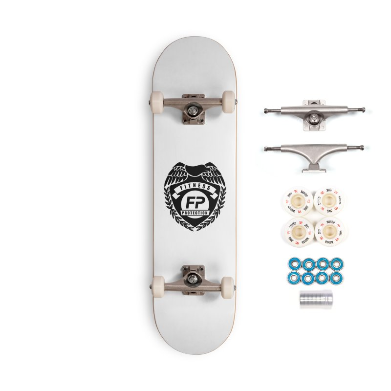 Fitness Protection Accessories Complete - Premium Skateboard by Official Merch of the Fitness Protection Program