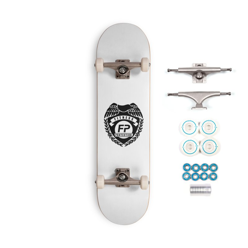 Fitness Protection Accessories Complete - Basic Skateboard by Official Merch of the Fitness Protection Program