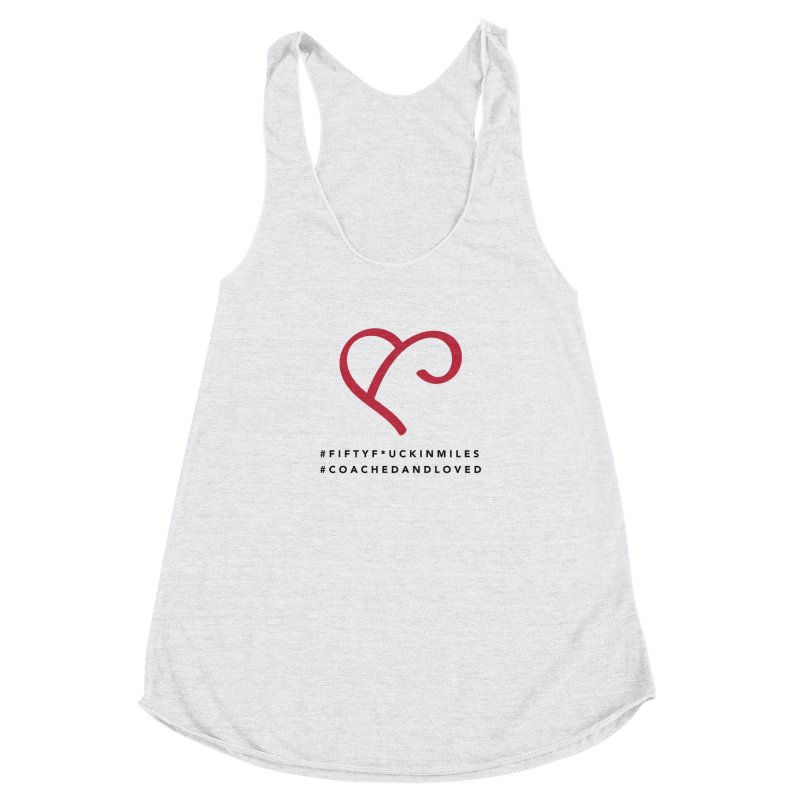 Happy Birthday Dear Susan Women's Racerback Triblend Tank by Official Merch of the Fitness Protection Program