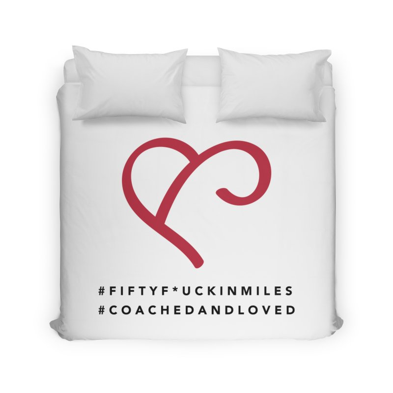 Happy Birthday Dear Susan Home Duvet by Official Merch of the Fitness Protection Program