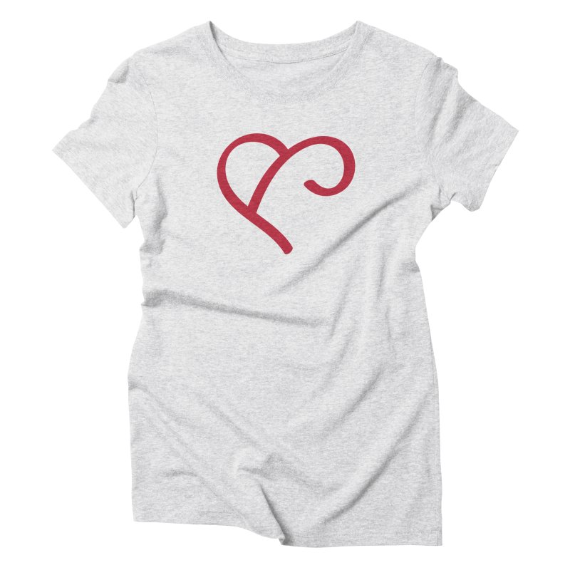 Basic Red Ampersand Women's T-Shirt by Official Merch of the Fitness Protection Program