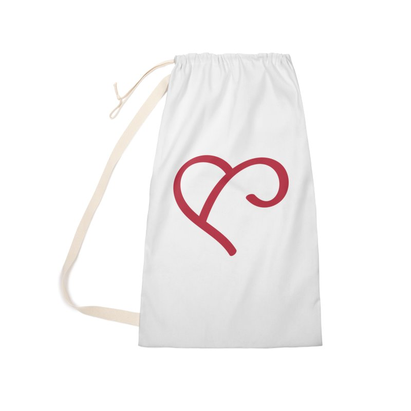 Basic Red Ampersand Accessories Bag by Official Merch of the Fitness Protection Program