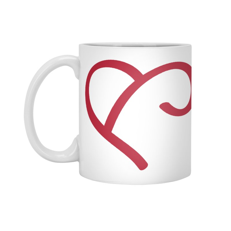 Basic Red Ampersand Accessories Standard Mug by Official Merch of the Fitness Protection Program