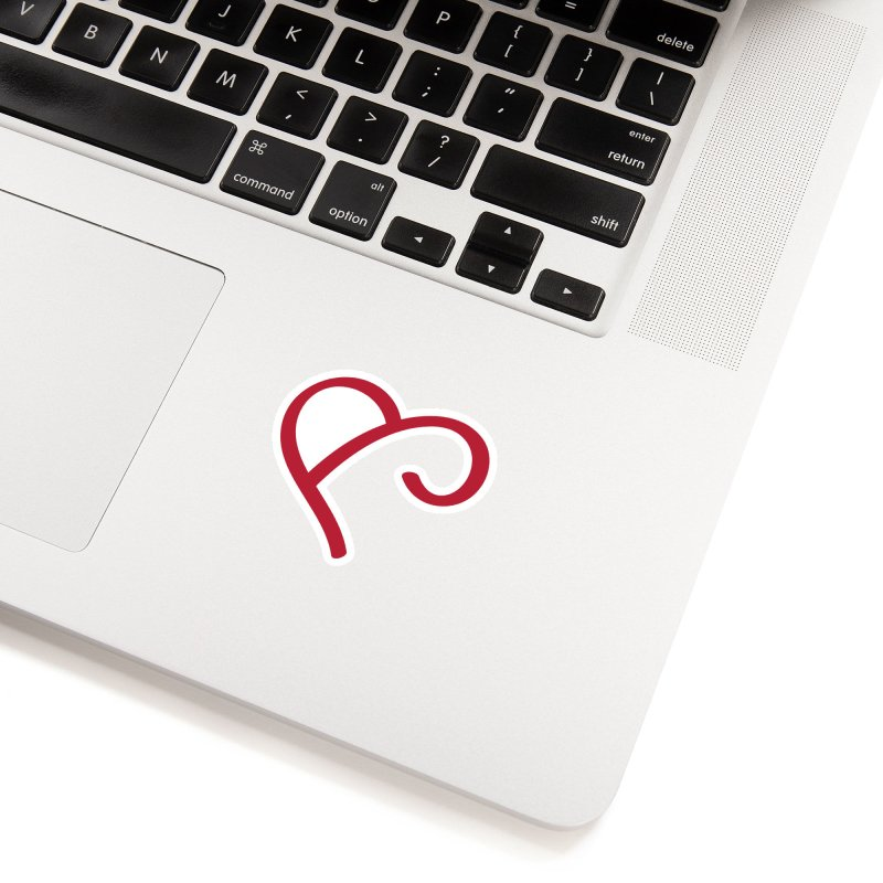 Basic Red Ampersand Accessories Sticker by Official Merch of the Fitness Protection Program