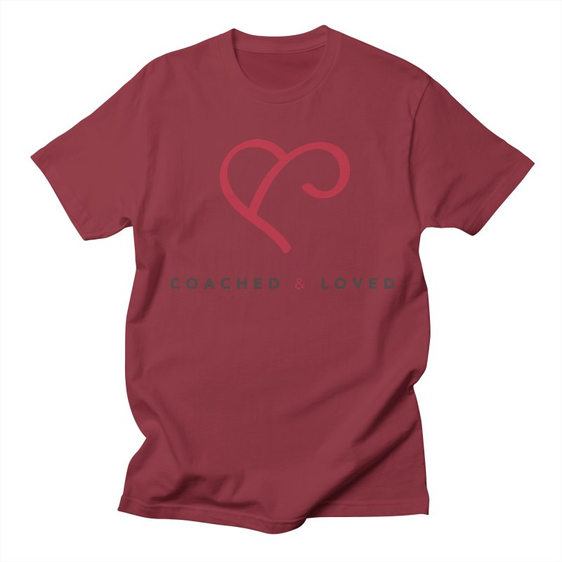 Red Logo Words Women's Regular Unisex T-Shirt by Official Merch of the Fitness Protection Program
