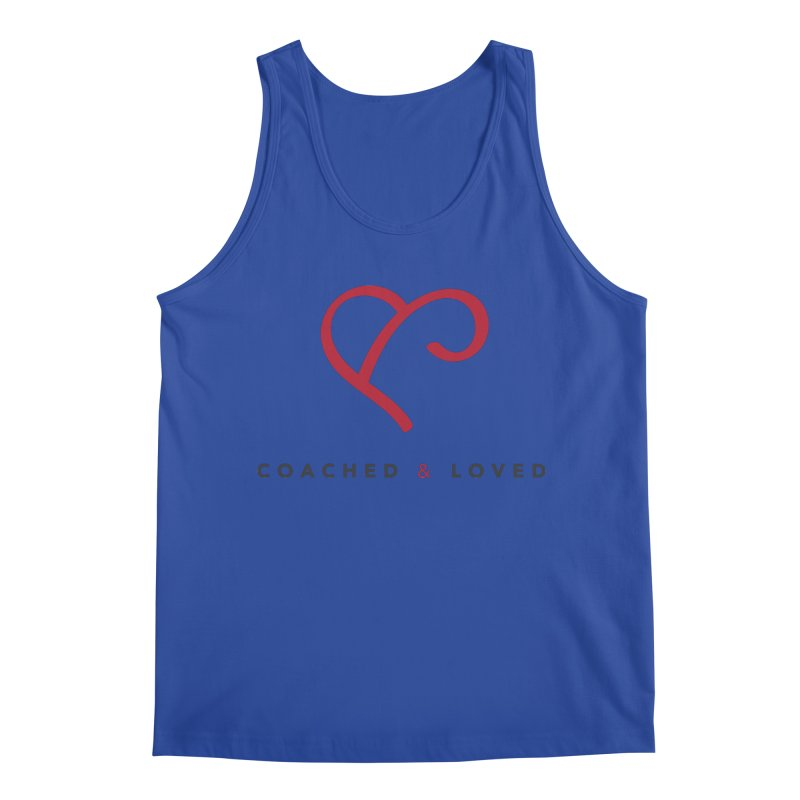 Red Logo Words Men's Regular Tank by Official Merch of the Fitness Protection Program