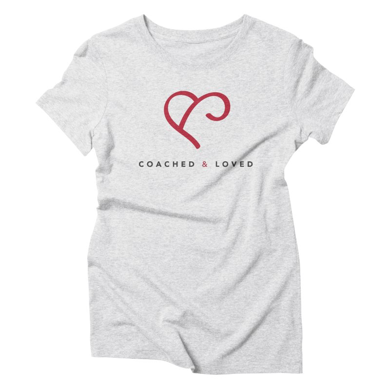 Red Logo Words Women's T-Shirt by Official Merch of the Fitness Protection Program