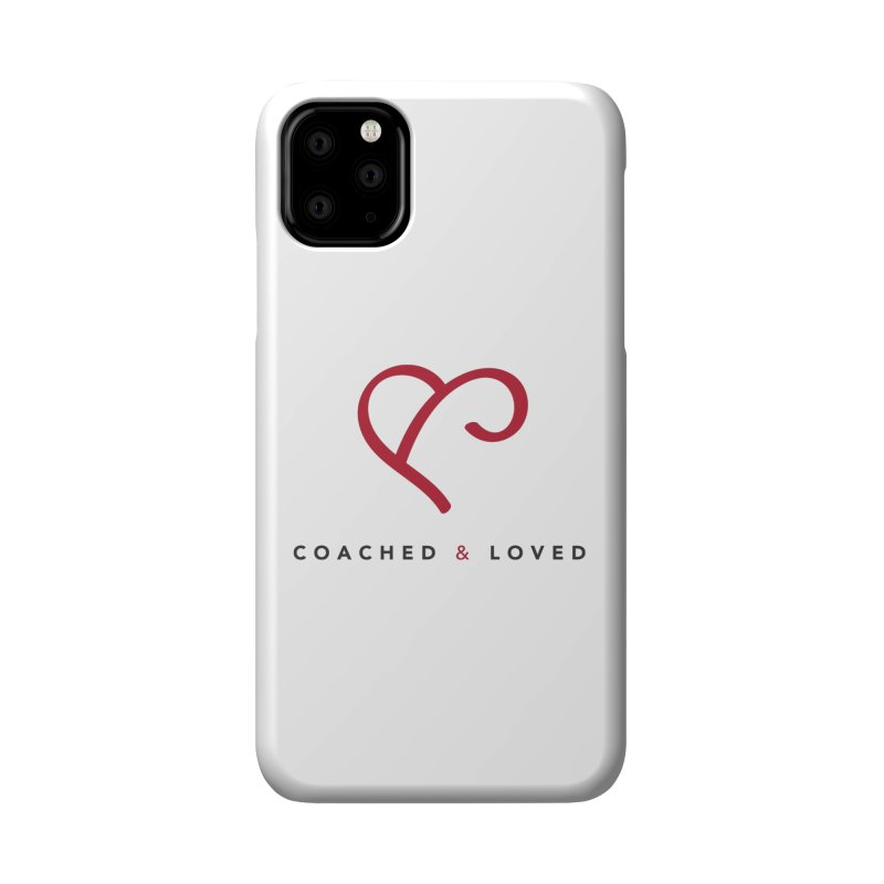 Red Logo Words Accessories Phone Case by Official Merch of the Fitness Protection Program