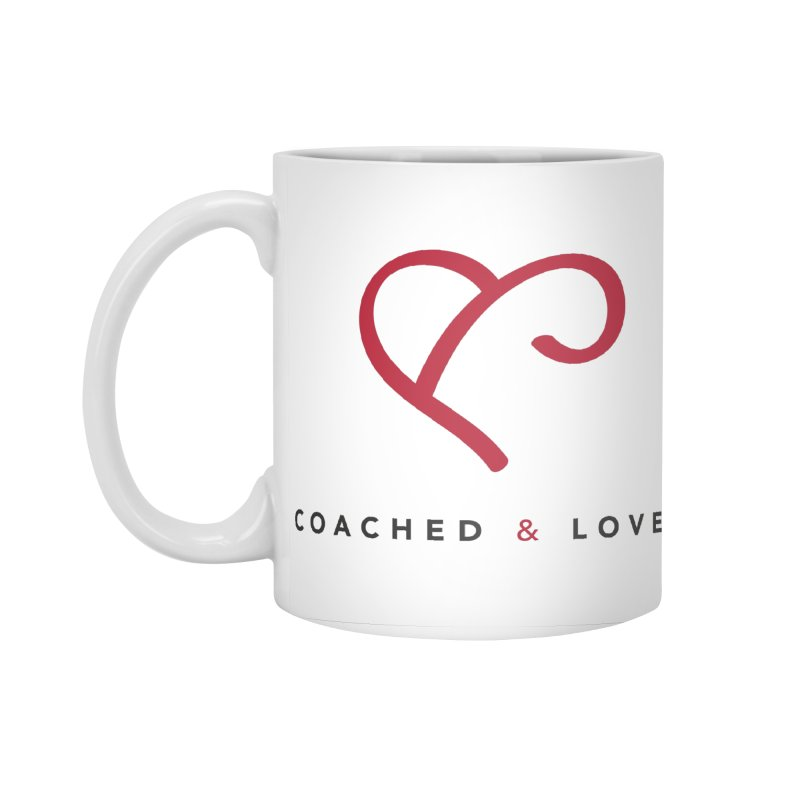 Red Logo Words Accessories Standard Mug by Official Merch of the Fitness Protection Program