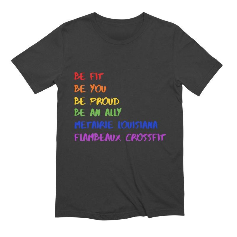 PRIDE 2019 Men's T-Shirt by FlambeauxFit's Artist Shop