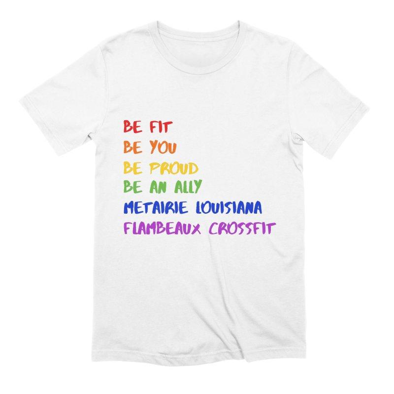 PRIDE 2019 Men's Extra Soft T-Shirt by FlambeauxFit's Artist Shop