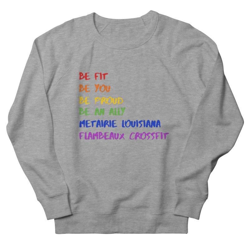 PRIDE 2019 Men's French Terry Sweatshirt by FlambeauxFit's Artist Shop