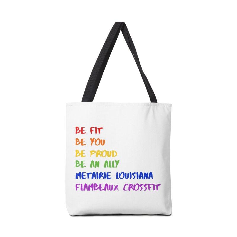 PRIDE 2019 Accessories Tote Bag Bag by FlambeauxFit's Artist Shop
