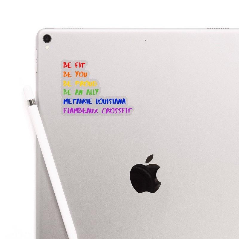 PRIDE 2019 Accessories Sticker by FlambeauxFit's Artist Shop