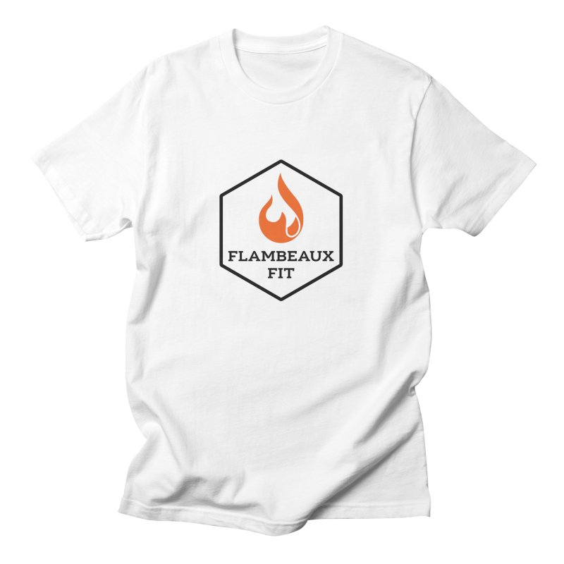 flambeaux fit Men's T-Shirt by FlambeauxFit's Artist Shop