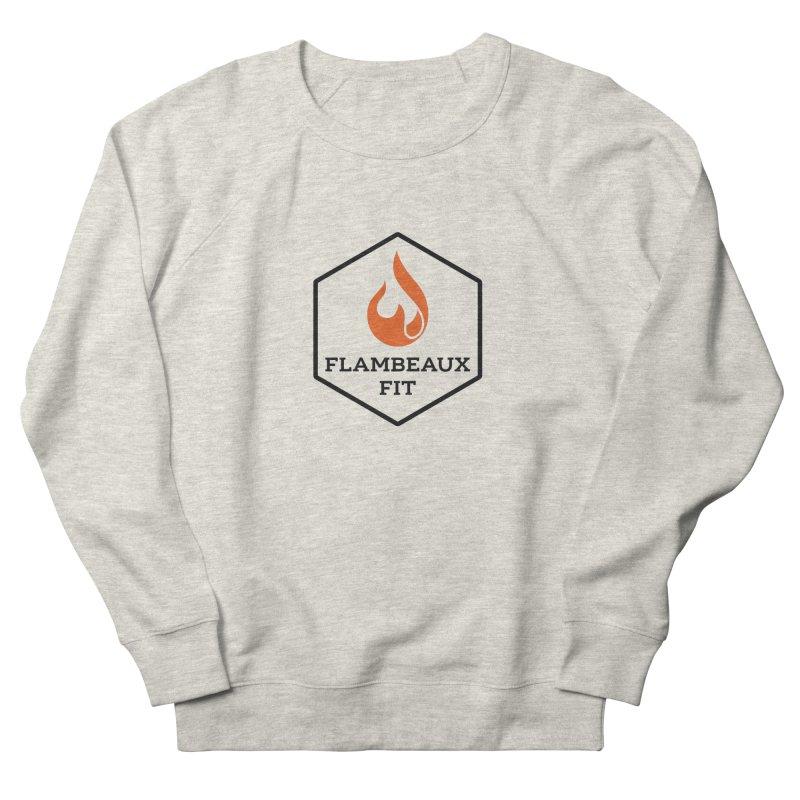 flambeaux fit Men's Sweatshirt by FlambeauxFit's Artist Shop