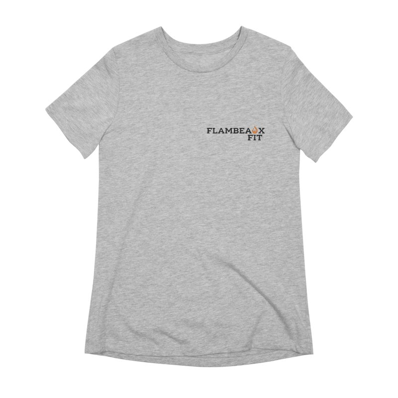 flambeaux fit pocket Women's T-Shirt by FlambeauxFit's Artist Shop
