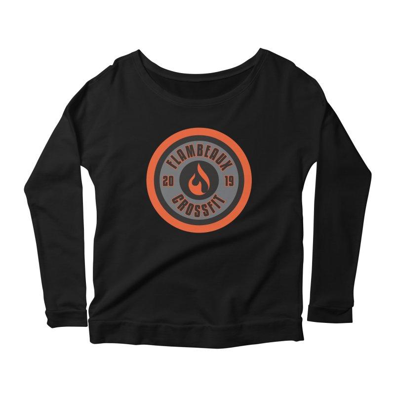 2019 Women's Scoop Neck Longsleeve T-Shirt by FlambeauxFit's Artist Shop